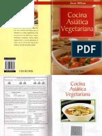 Cocina Asiatica Vegetariana (Anne Wilson)