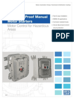 WEG Explosion Proof Manual Motor Starters Usaep11 Brochure English