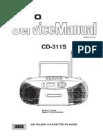 Casio CD-311s Sm