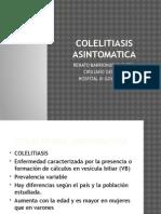 COLELITIASIS ASINTOMATICA2