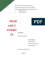Informe Fisica 2, Energia