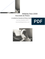 Guide for Parents of Piano Students