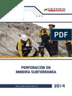 Perforacion en Mineria Subterranea