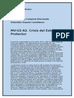 MV-U2-A2. Crisis Del Estado Protector