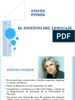Power Point Steven Pinker Capitulo 1 y 13