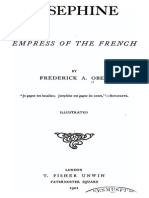 Joséphine Empress of the French - Frederick a. Ober