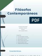 Filósofos Contemporáneos