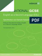 UG031267 International GCSE in ESL Master Booklet Spec Issue 5 SAMs Issue 2 for Web 100412