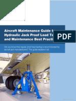 Aircraft Jack Proof Load Testing
