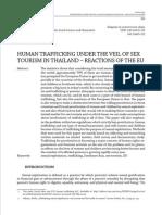 Human Trafficking_Tourism of Thailand