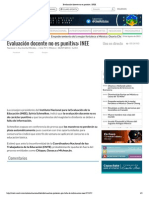 20150706_Evaluación docente no es punitiva_ INEE