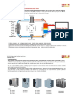 Deron Swimming Pool Heat Pump Catalogue