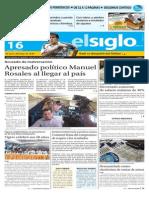 Ediciòn Impresa El Siglo 16-10-2015