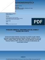 Problema Ambiental Epistemología Del Dominio y Dinámicas Del Sujeto. Para Repensar La Educación Para El Desarrollo.
