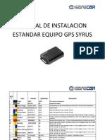 Manual de Instalacion Estandar Equipo Gps Syrus PDF(1)