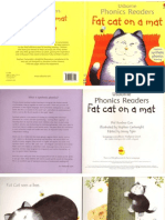 Fat Cat on a Mat (Usborne Phonics Books)
