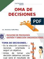 Toma de Decisiones - Poder y Liderazgo