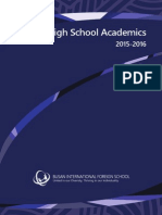 2015-16 High School Academics
