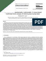 Multimodality journal