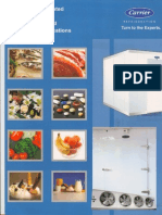 Catalogue for refrigeration equipments