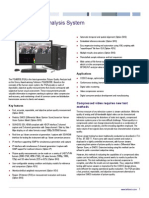 PQA600B Picture Quality Analyzer Datasheet 0