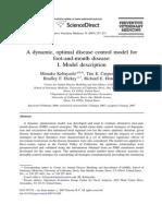 Kobayashi Dynamic Optimization Model Description