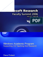 Windows Academic Program