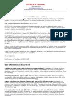 Inter Voice Newsletter February 2010