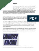 Tips Buka Usaha Laundry