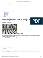 MyChemE » Calculating Pressure Drops in Straight Pipe