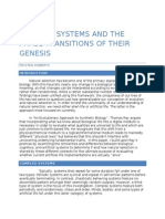 Complex Systems and the Phase Transitions of Their Genesis