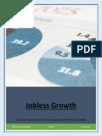 Job Less Growth