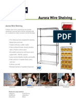 Aurora Wire Shelving
