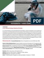 Diplomado en Fotografía y Video Forense