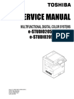 Toshiba 2550 service manual
