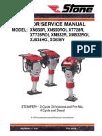 Stone  Stomper Compactor Manual