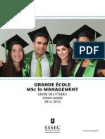 ESSEC Guide des Etudes (2015)