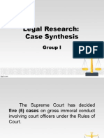 Case Synthesis