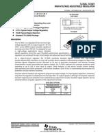 TL 783C,Y High Voltage Adjustable Regulator