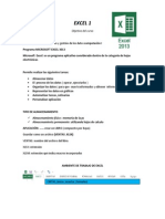 Microsoft Excel -- 2013