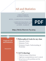 OCTM_2015_Nspired CAS and Statistics