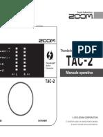 Zoom TAC-2 Manuale Operativo (Italian)