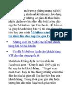 Mobifone Cách Bảo Vệ Tin Nhắn Lừa Đảo Nạp Thẻ Qua Facebook