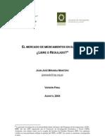 ¿El mercado de medicamentos en el Perú  Libre o regulado?
