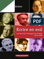 ecrire en exil