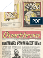 Overthrow, Vol. 5, No. 2, July/August 1983