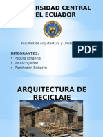Arquitectura del Reciclaje