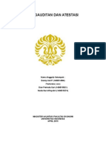 Case Study 11.1 - Tugas Audit Kedua 29 September 2015