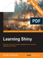 Learning Shiny - Sample Chapter