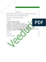 Informe I. Veeduría al Programa Nacional de Atención Integral